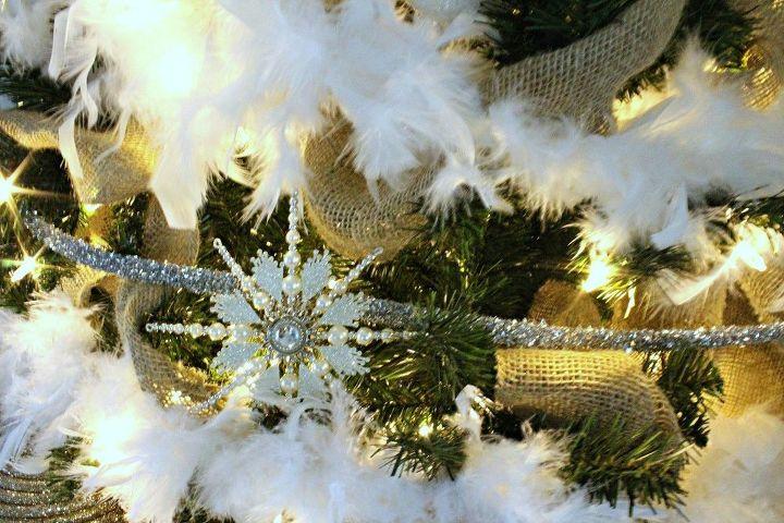 diy feather boa garland