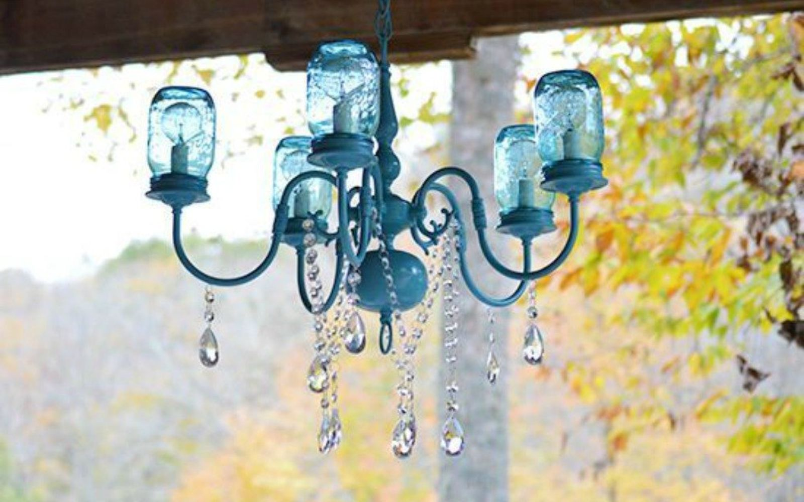 s 14 exciting mason jar ideas you just have to try, mason jars, 10 The breathtaking boho chic chandelier