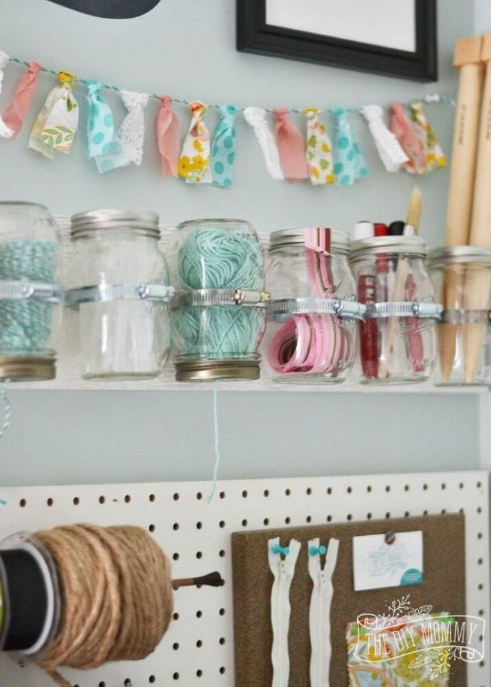 Craft Storage Ideas Diy Projects