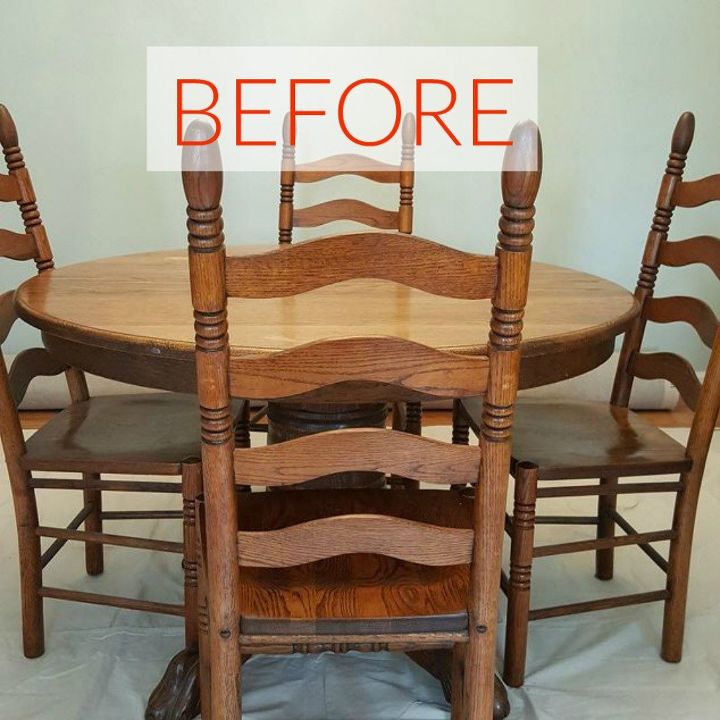 Remarkable 9 Dining Room Table Makeovers We Cant Stop Looking At Download Free Architecture Designs Grimeyleaguecom