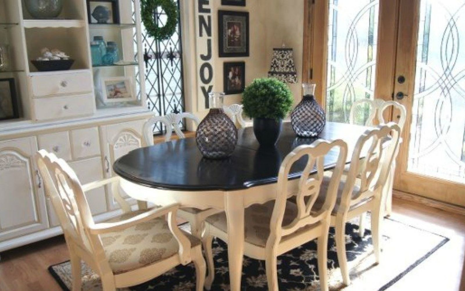 99+ ideas for painting dining room furniture - 25 dining table ideas Dining Table Painting Ideas