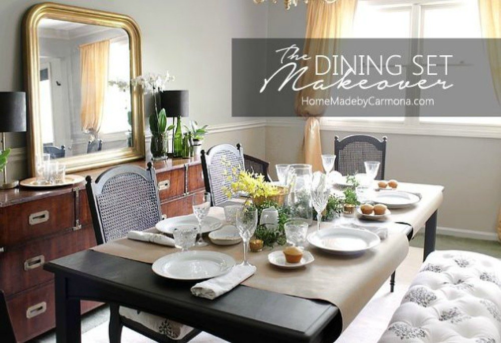 after a stunning dark dining table set - Dark Dining Room Table