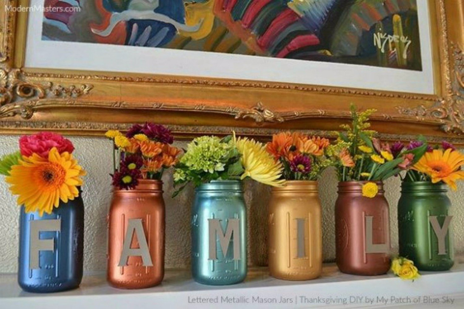 14 exciting mason jar ideas you just have to try hometalk. Black Bedroom Furniture Sets. Home Design Ideas