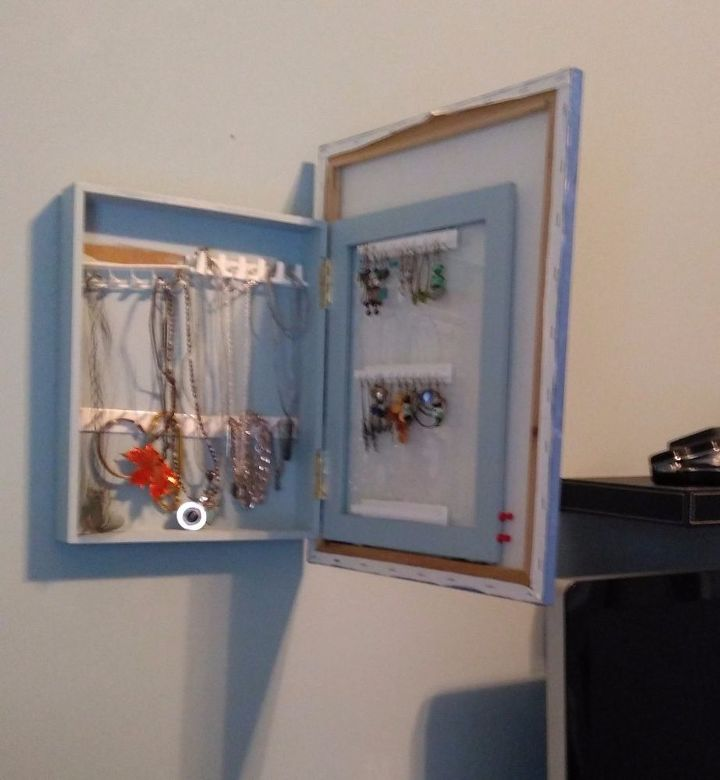 diy jewelry organizer, organizing