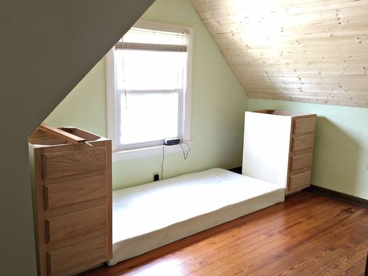 how to make a built in bed using stock kitchen cabinets closet how to - How To Make Kitchen Cabinets