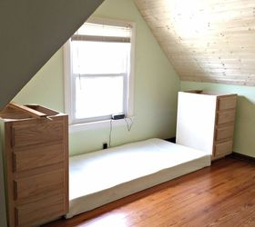 How To Make A Built In Bed Using Stock Kitchen Cabinets, Closet, How To