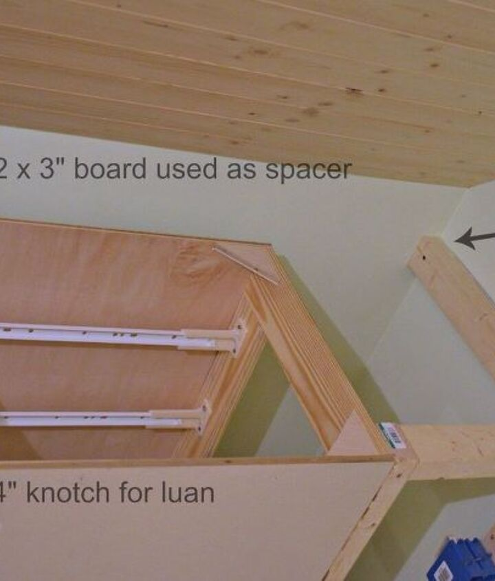 how to make a built in bed using stock kitchen cabinets, closet, how to, kitchen cabinets, kitchen design