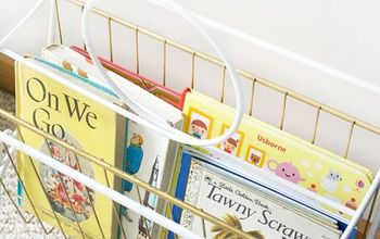 Vintage Book Holder for the Nursery