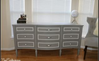diy dresser makeover detailed rehab guide, painted furniture