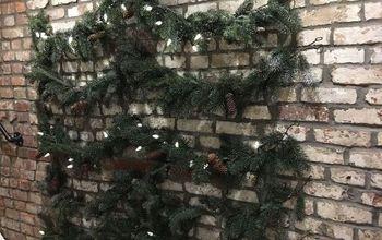 Christmas Tree on a Wall
