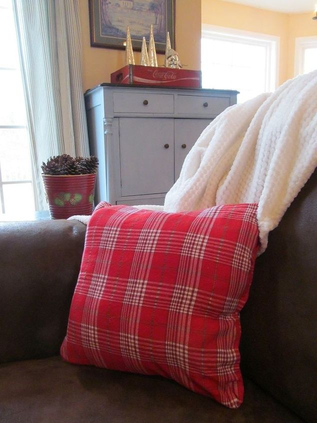 no sew christmas pillows