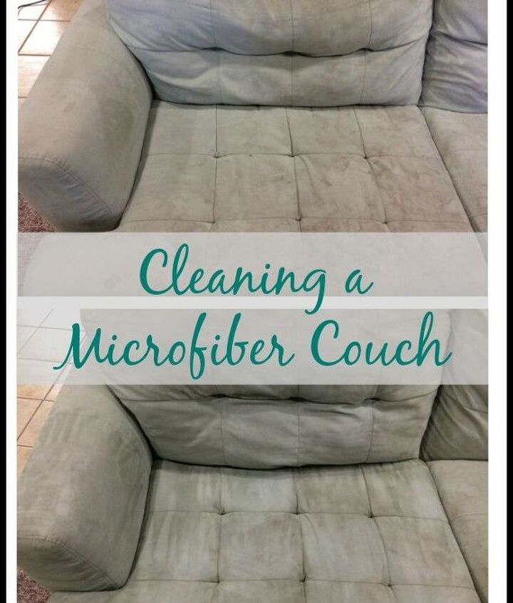 how to clean a microfiber couch, cleaning tips, how to, painted furniture