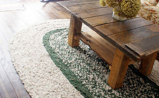 how to braid your own large rag area rug , how to, reupholster