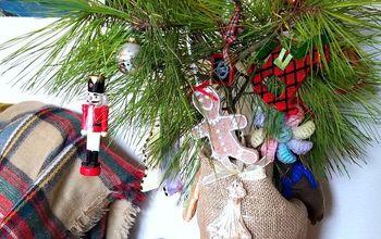 Easy, No-Cost, DIY Charlie Brown Christmas Tree