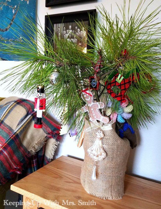 easy no cost diy charlie brown christmas tree - Charlie Brown Christmas Tree For Sale