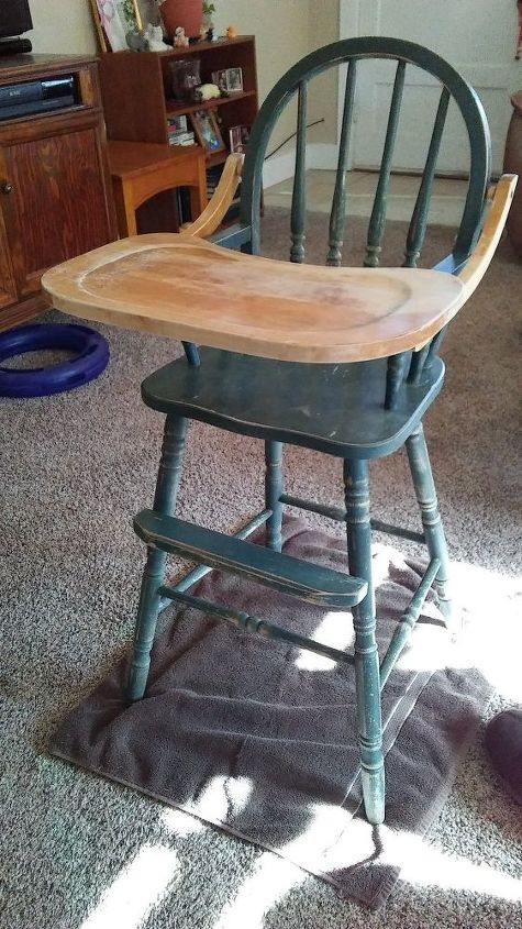Edited How Do I Seal The Tray On A Wooden High Chair Hometalk