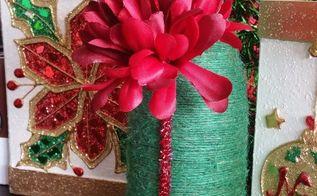 decorative twine wrapped wine bottle