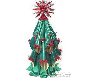 Simple Foil Christmas Tree Decoration Hometalk