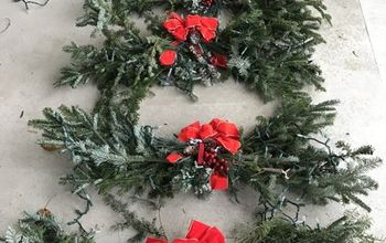 nearly free diy holiday decor, home decor