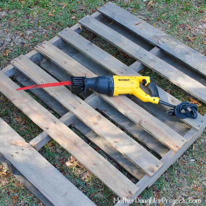 how to take apart a pallet, how to, pallet