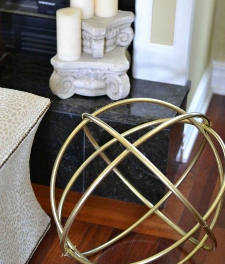 s grab a hoola hoop for these 10 amazing decor ideas, home decor, Build a gorgeous piece of spherical decor