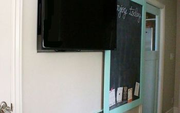 A Great Way To Hide Your Kitchen TV