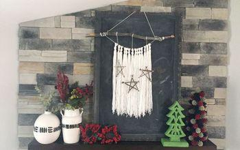 DIY Boho-Inspired Holiday Stars
