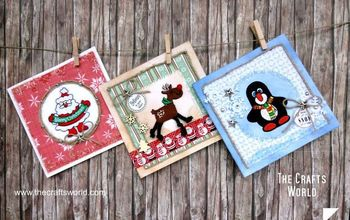 Christmas Cards With Iron on Patches