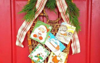 "Vintage Snow Shoe Christmas ""Wreath"""