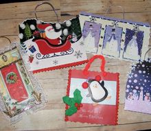 old christmas cards made new again