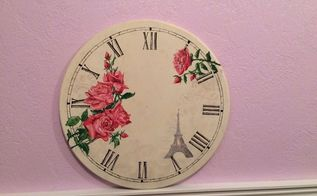 from table to clock, painted furniture