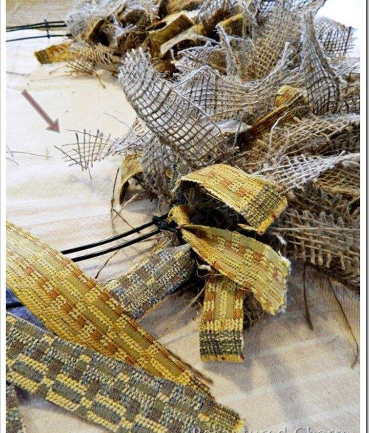rustic autumn kitchen wreath, crafts, seasonal holiday decor, wreaths