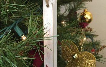 DIY Rustic Christmas Ornaments From Scrap Wood