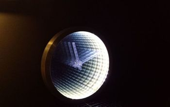 Infinity Mirror Clock From An Old Clock
