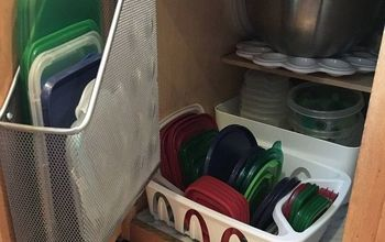 Food Storage Container Organization Solved