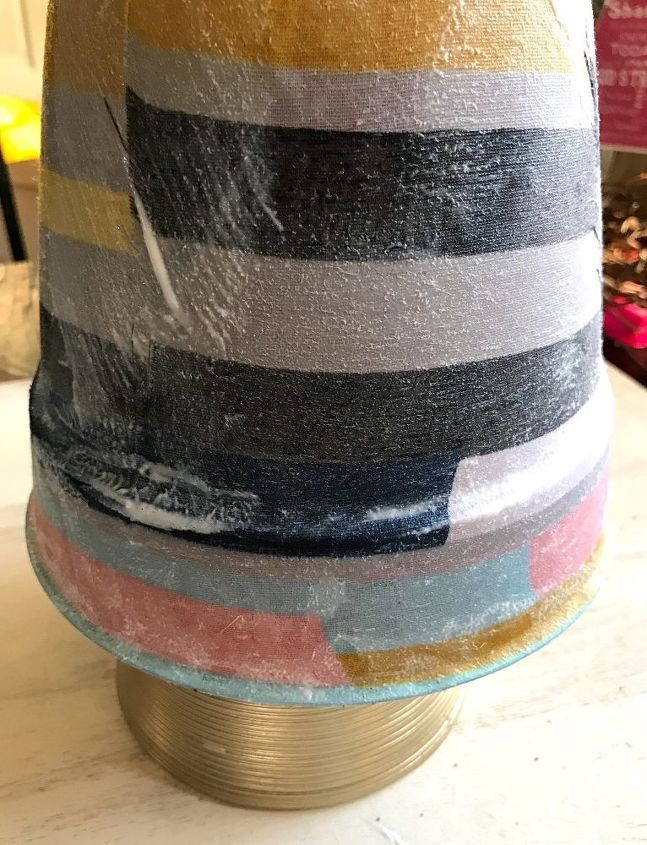faux patchwork pot