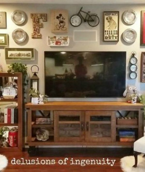 13 Low-Budget Ways to Decorate Your Living Room Walls | Hometalk