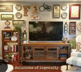 How To Decorate Your Living Room Walls Part - 18: Add A Gallery Wall Of Your Favorite Things