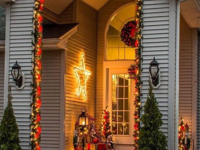 faux christmas tree repurposed three ways