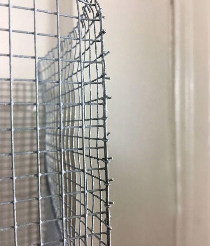 wire storage baskets, crafts, storage ideas