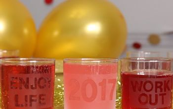Make Fun Glasses for New Years & Toast Your Resolutions!