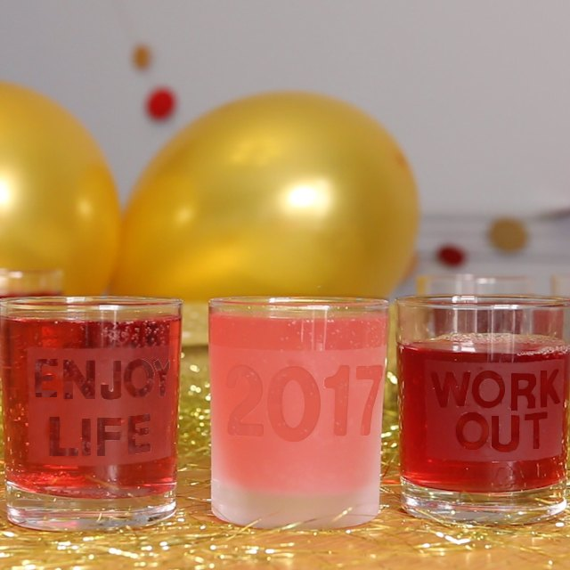 new years glasses toast your resolutions