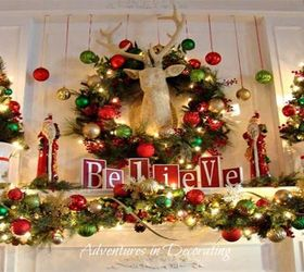 Diy Mantel Christmas Decoration Ideas, Fireplaces Mantels ...