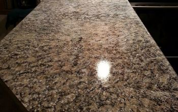 Penninsula and Painted Granite on Counter Tops