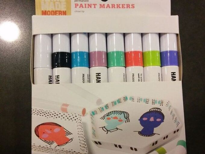 q product review hand made modern paint markers for wood crafts, crafts, repurposing upcycling
