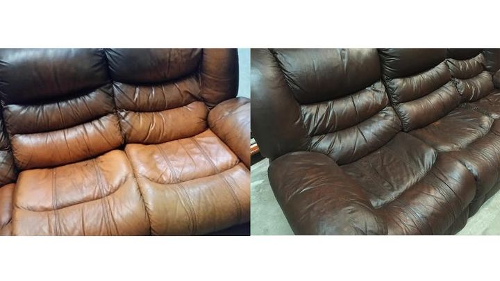 how to easily repair and cover cat scratches on leather furniture hometalk. Black Bedroom Furniture Sets. Home Design Ideas