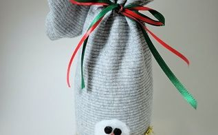 holiday gift wine bag