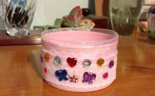 tin can dle holder