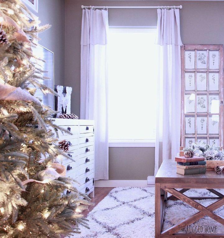 cheapest easiest diy drop cloth curtains, home decor, window treatments
