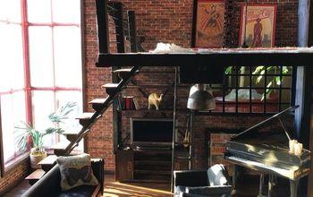 urban loft dollhouse renovation